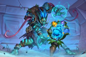 video games rastakhan's rumble  hearthstone pc gaming
