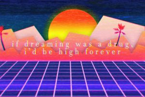 video games sunset retrowave outrun vaporwave text retrowave outrun quote