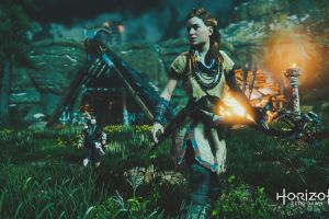 video games video game characters aloy (horizon: zero dawn) screen shot horizon: zero dawn horizon zero dawn