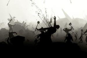 video games war blood battle