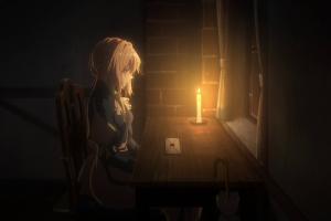 violet evergarden anime blonde anime girls