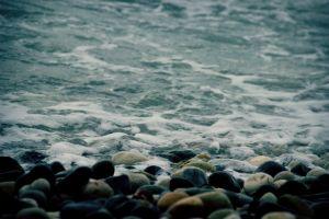 water coast stones