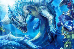 water creature monster hunter water