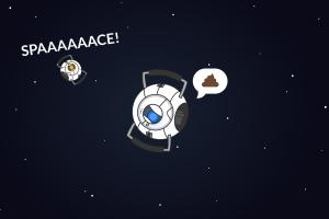 wheatley aperture laboratories portal (game) space