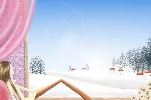 window children illustration