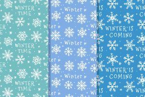 winter texture pattern