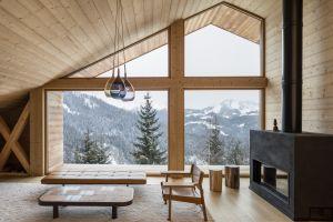 winter window interior cabin
