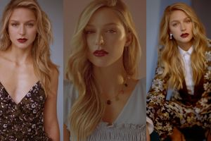 women actress melissa benoist collage