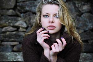 women model blonde