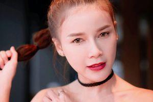 women model lanchakorn yeunyaw thailand model brunette face asian