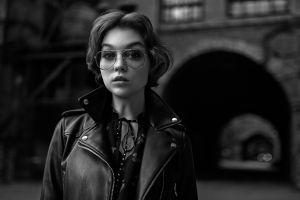 women model women with glasses monochrome glasses georgy chernyadyev olya pushkina
