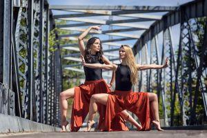 women outdoors dancer women