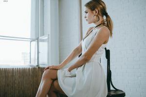 women portrait model women indoors