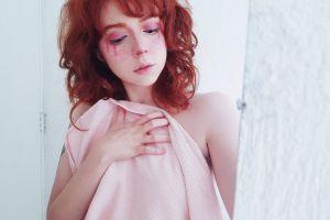 women redhead redhead people brigitte grey