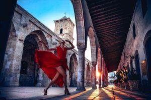 women women outdoors urban model