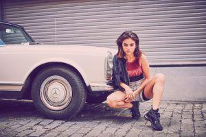 women women with cars selena gomez celebrity