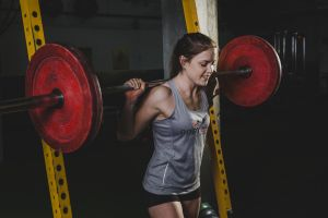 working out weightlifting women model fitness model sport