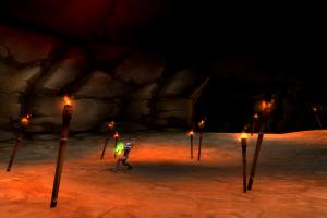 world of warcraft wailing caverns screen shot pc gaming