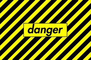 yellow background yellow yellow dangerous