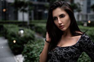 yura warner looking away women outdoors face portrait women