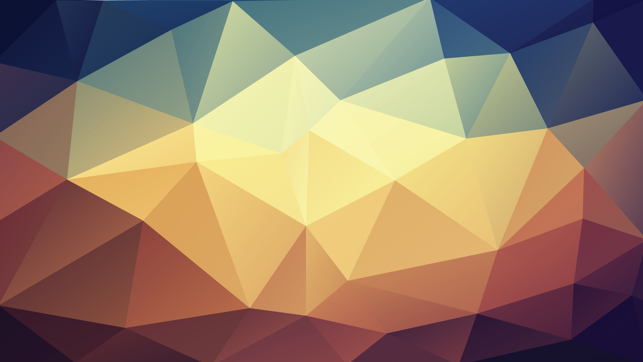 abstract low poly pattern
