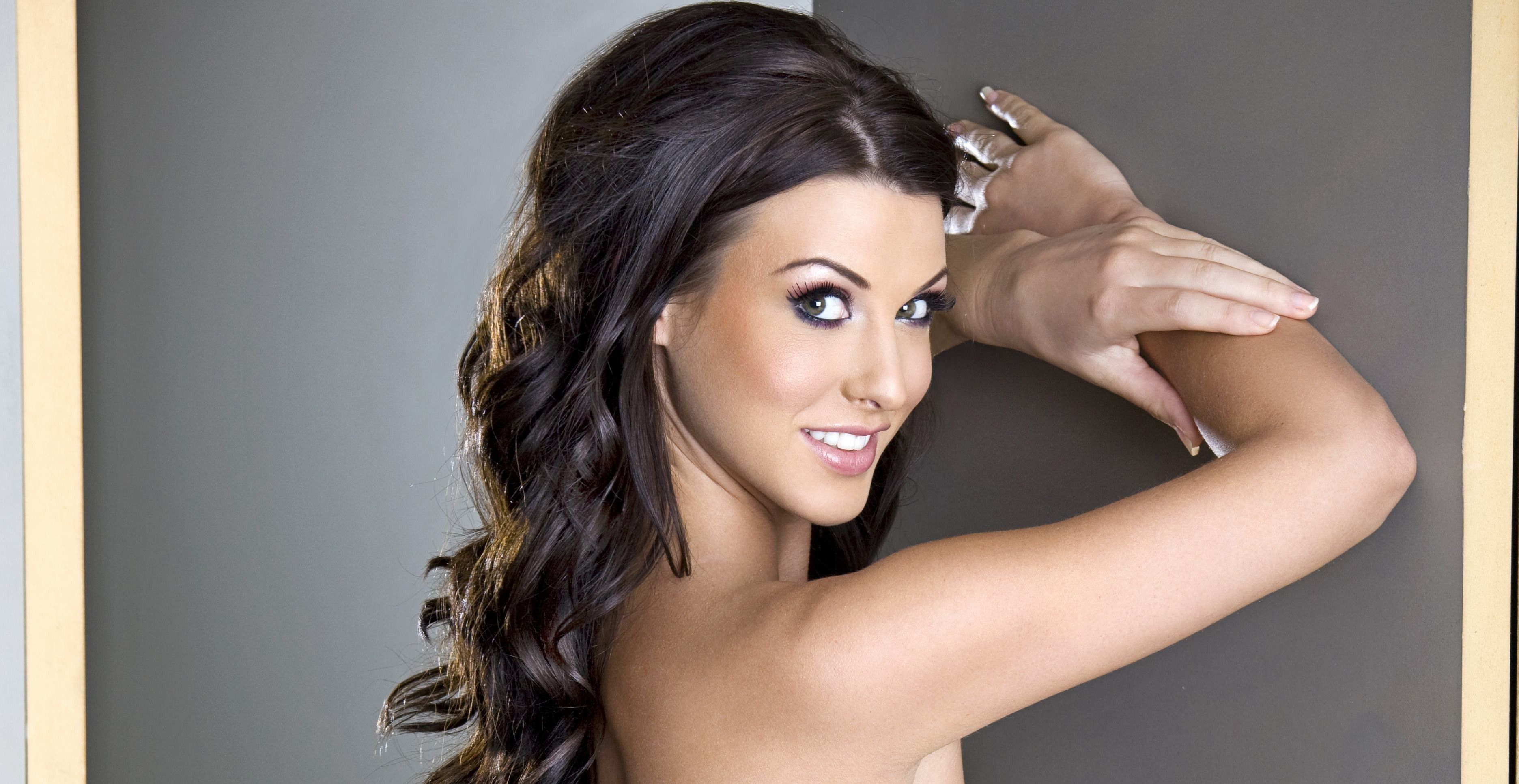 alice goodwin face pinupfiles.com smiling portrait women