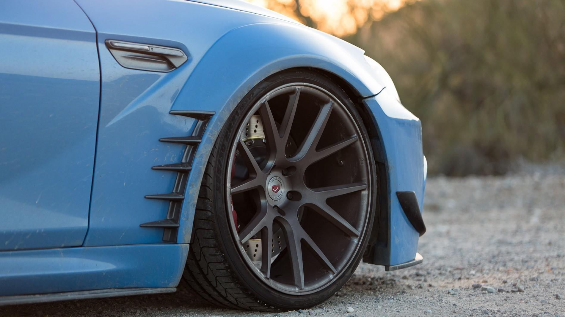 blue cars prior design bmw bmw 650i vossen car tires