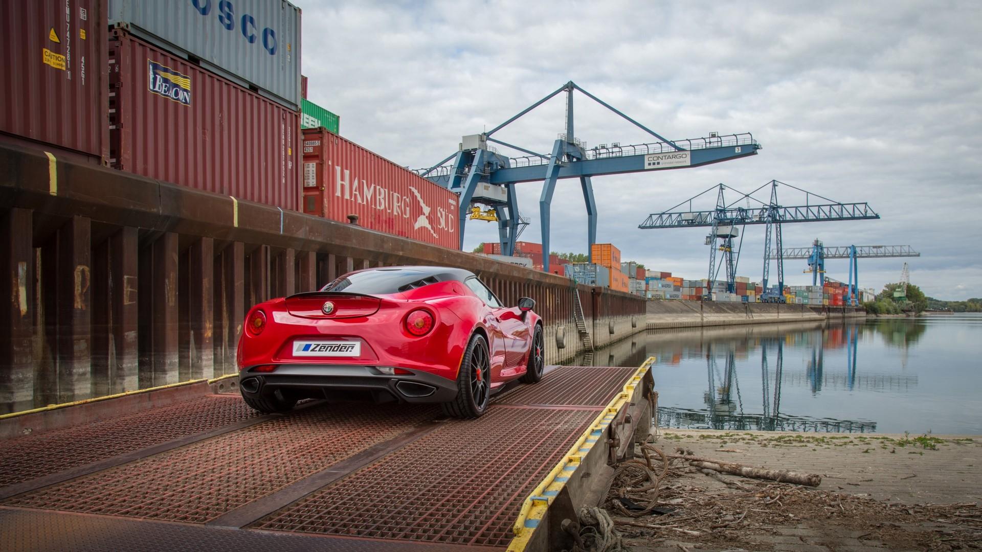 car harbor vehicle vehicle alfa romeo