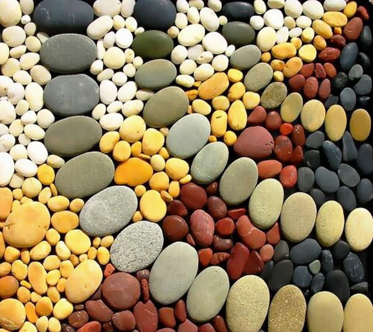 colorful pattern texture stones