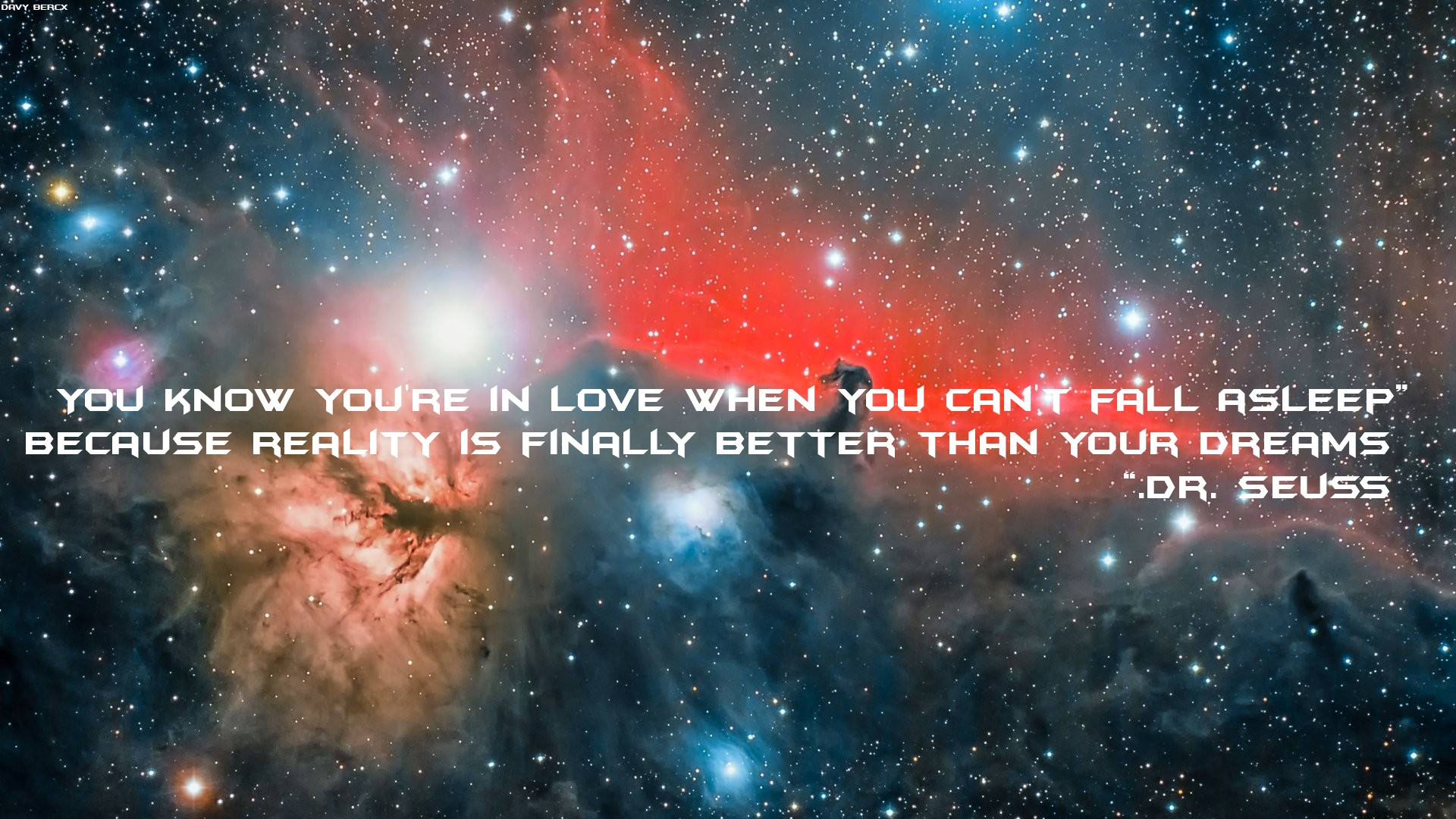 galaxy love quote