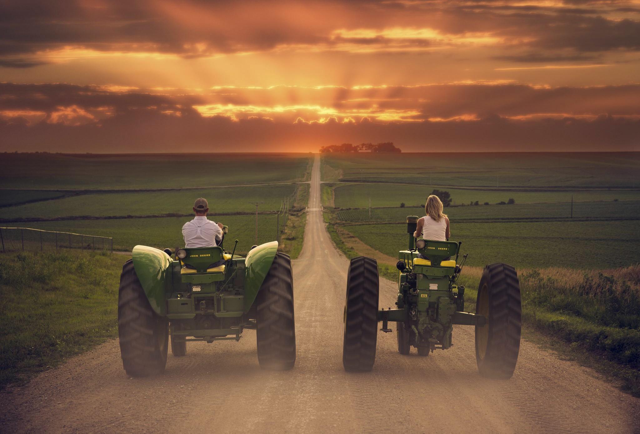 landscape vehicle field tractors
