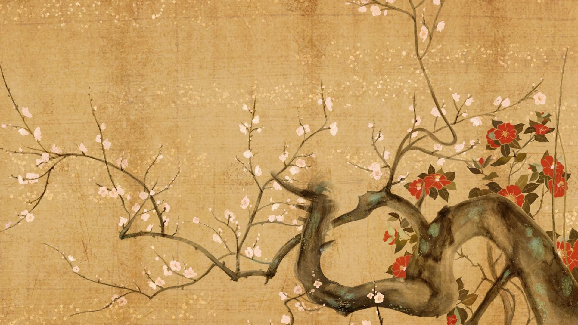 paper trees cherry trees cherry blossom