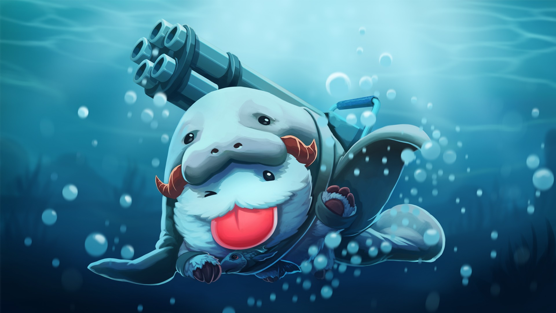 pc gaming league of legends poro