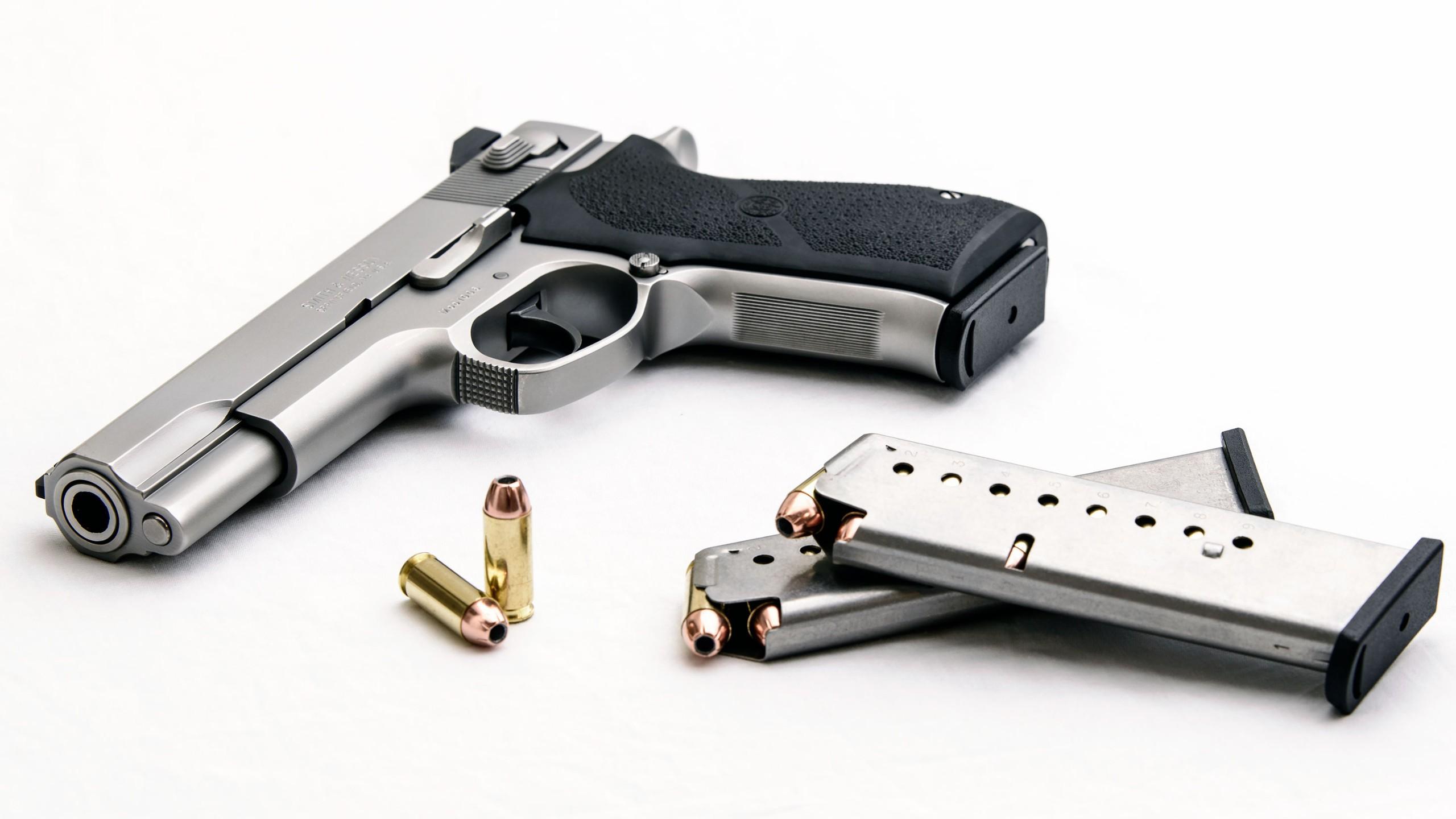 pistol smith & wesson gun