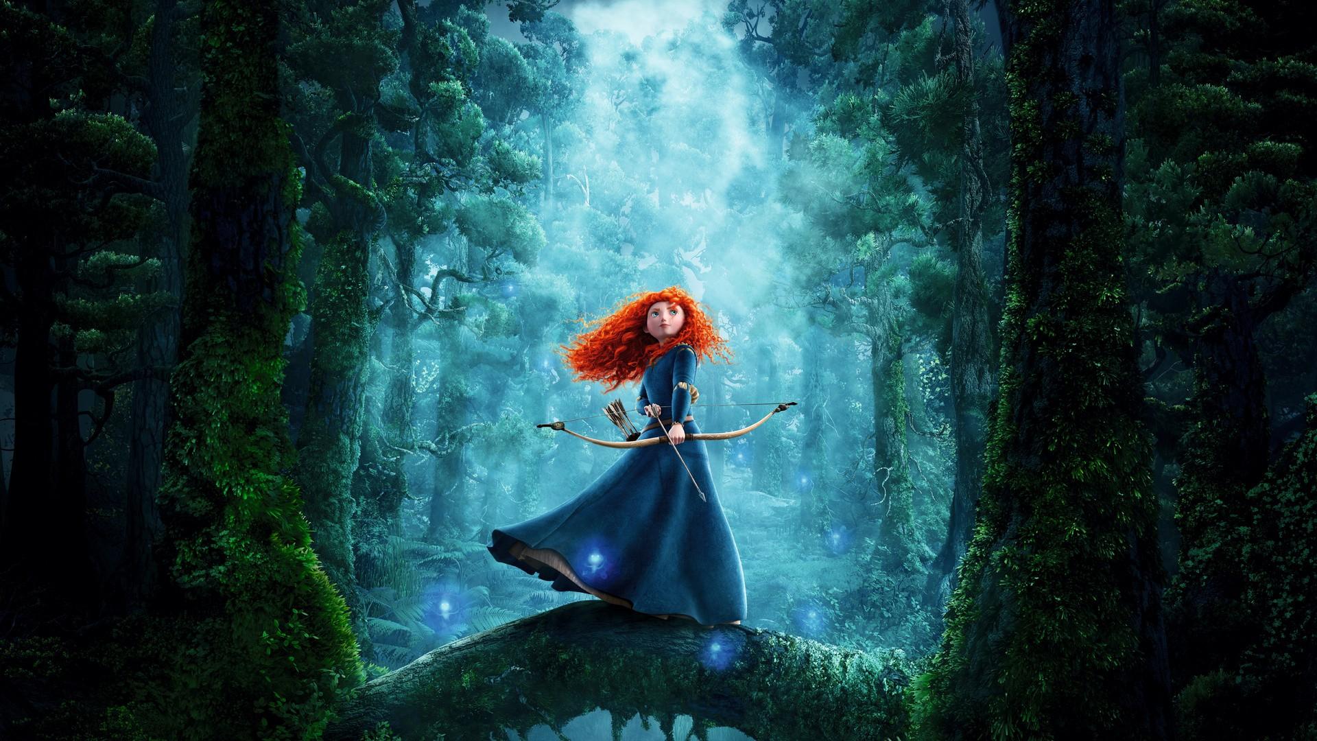 redhead disney brave