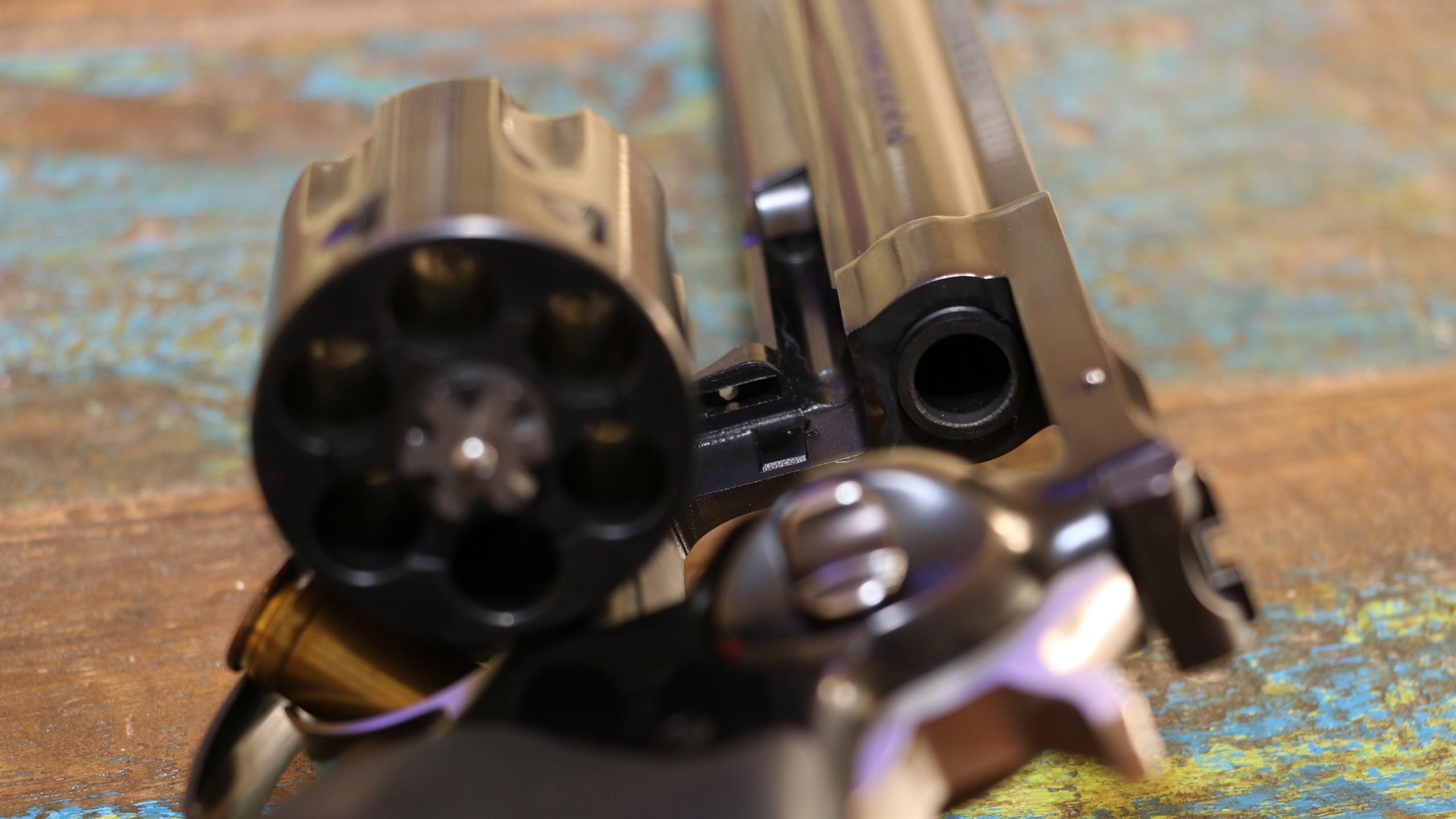 ruger pistol revolver gun