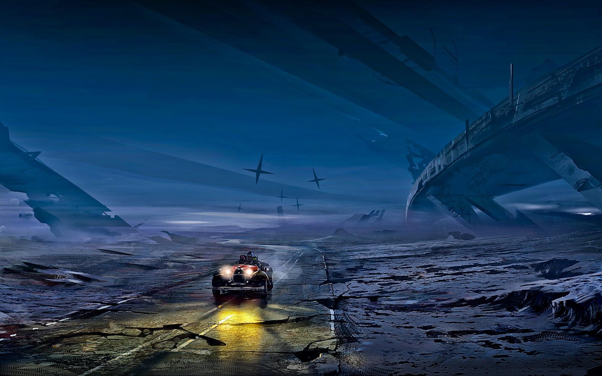 science fiction romantically apocalyptic  futuristic