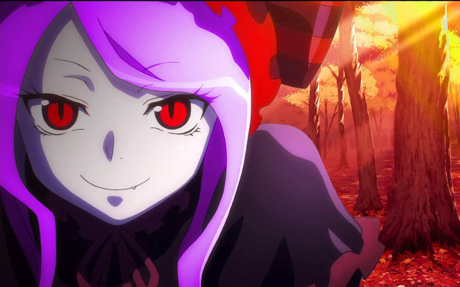 shalltear bloodfallen  anime girls shalltear anime overlord (anime)