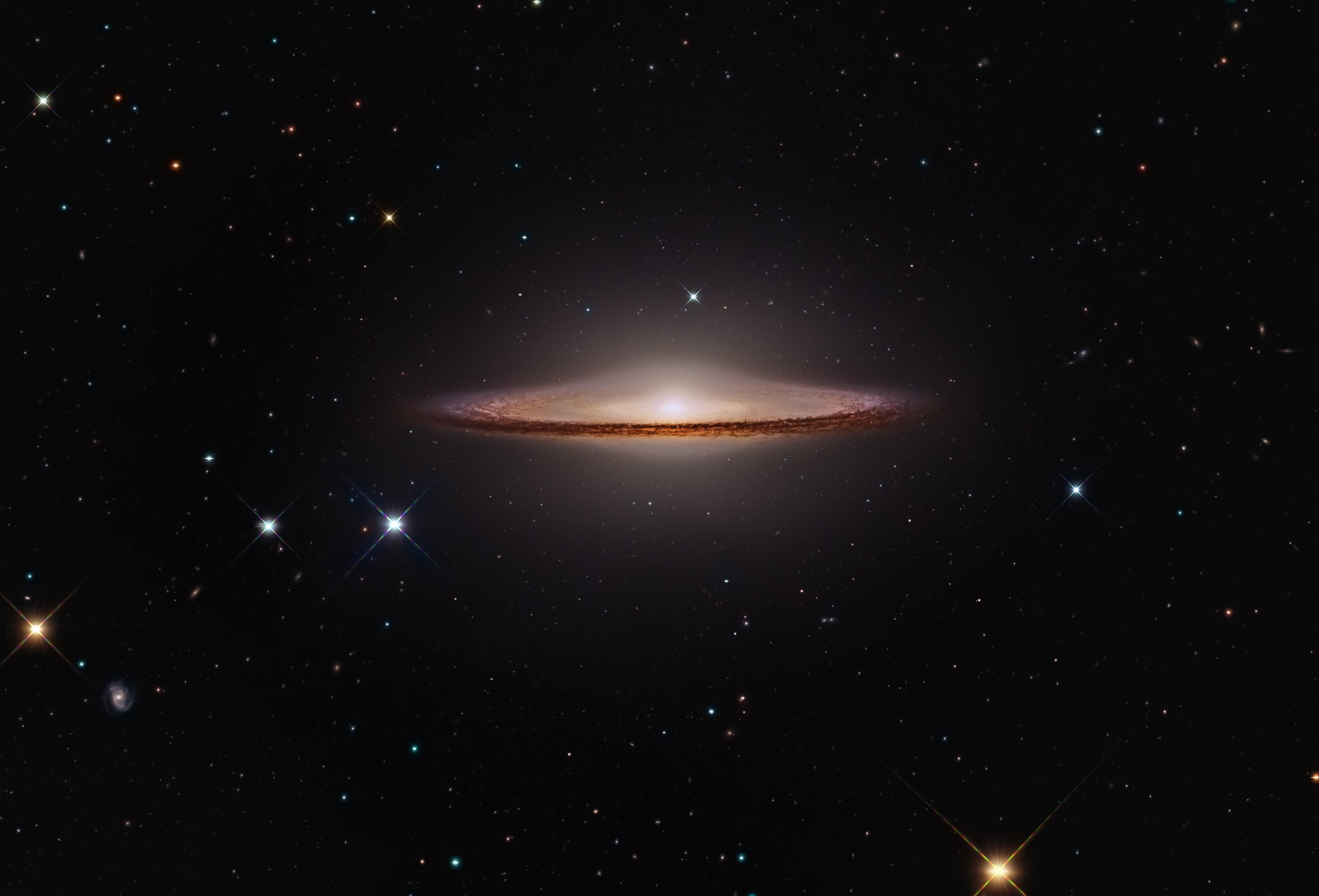 sombrero galaxy astronomy galaxy space universe