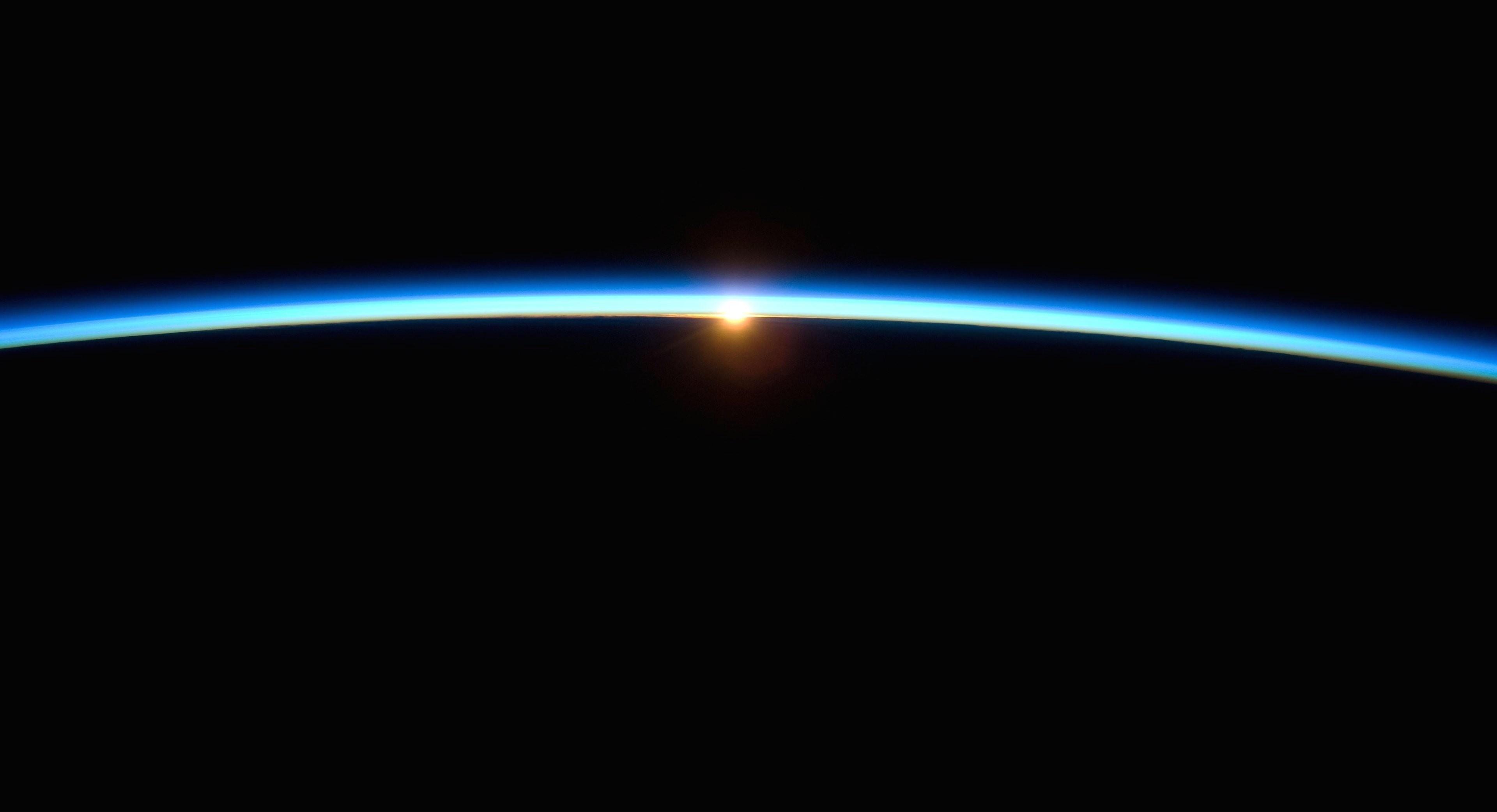 space horizon photography earth