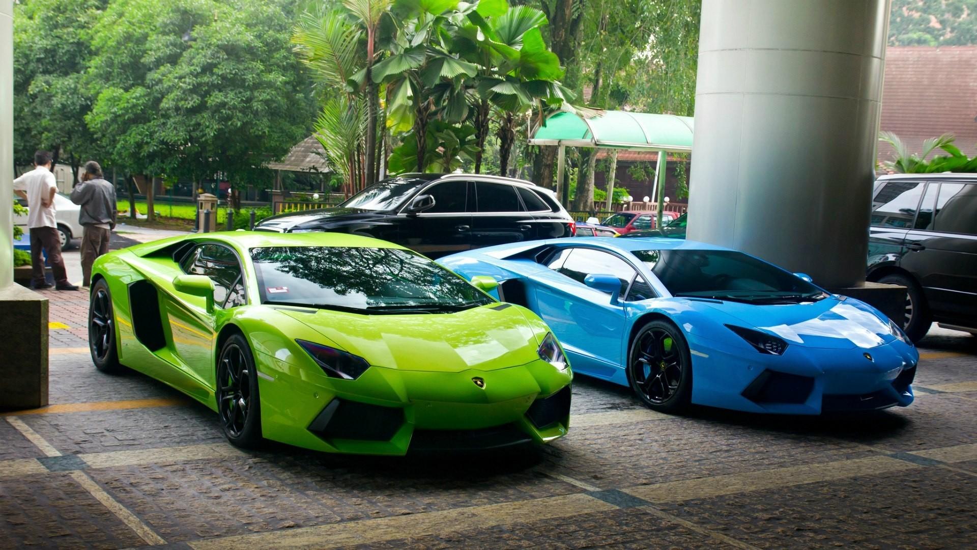 supercars car blue cars green cars vehicle