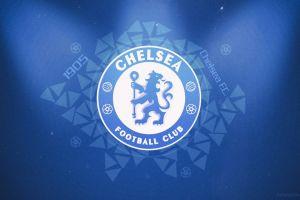 1905 (year) logo chelsea fc blue background