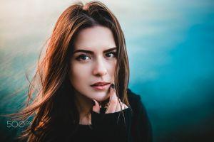 500px women face portrait