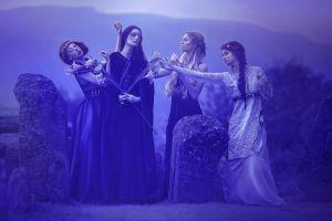 a. m. lorek women fantasy art model