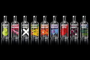 absolut bottles vodka alcohol