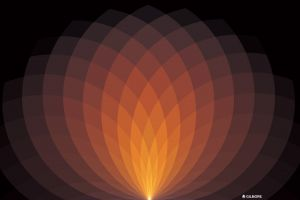 abstract digital art geometry