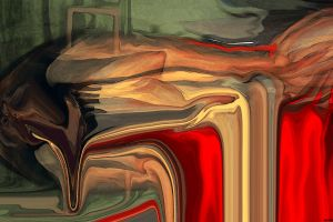 abstract painting surreal artwork