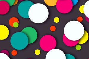 abstract pattern colorful