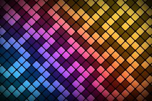 abstract pattern square digital art lines colorful