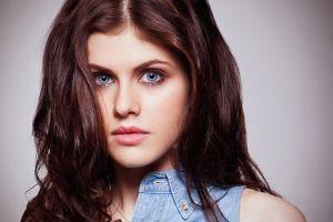 actress alexandra daddario blue eyes celebrity women brunette